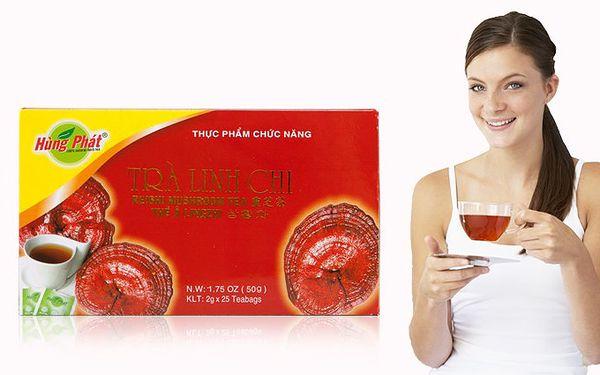 Čaj z houby Ganoderma pro regulaci krevního tlaku, harmonizaci organismu a posílení