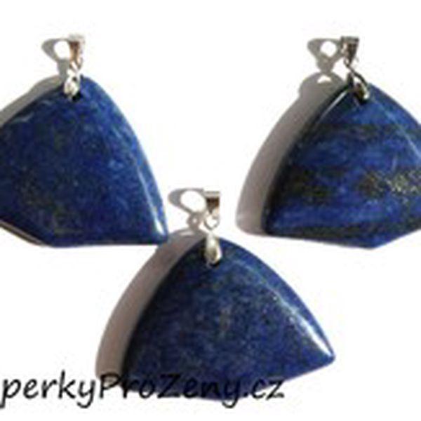 Přívěsek Lapis lazuli široká kravata