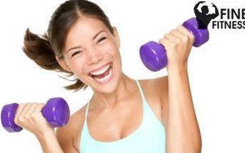 10 VSTUPŮ do nové POSILOVNY Fine Fitness v Pardubicích! Špičkové vybavení, PROFI PŘÍSTUP.