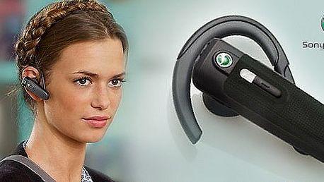 Značkový Bluetooth™ Headset od Sony Ericsson. Už nikdy nebudete nezastihnuteľný! Nežonglujte viac s mobilným telefónom, volajte pohodlne so zľavou 60 %!
