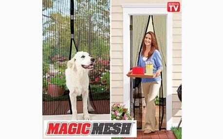 Magnetická síťka na dveře proti otravnému hmyzu za báječnou cenu 149 Kč! Ochraňte své obydlí od otravného hmyzu a užijte si čerstvý vzduch bez nepříjemných štípanců!