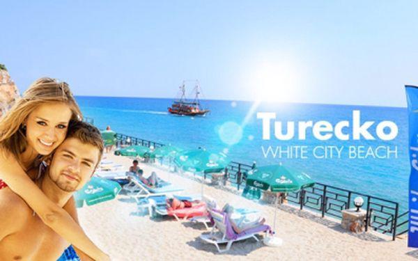 Exkluzivní 11denní ALL INCLUSIVE LETECKÁ dovolená na Tureckou riviéru za 12990 Kč v termínu 26.06. - 06.07.13! Ubytování v luxusně vybaveném 4* hotelu 50m od písčité pláže a 3 km od centra města Konakli!