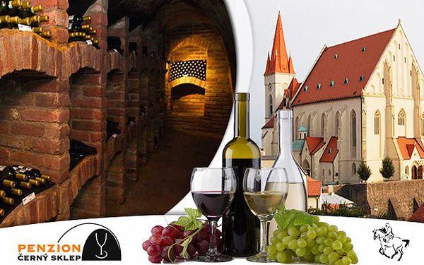 Vinařský pobyt pro 2 osoby s ochutnávkou vín