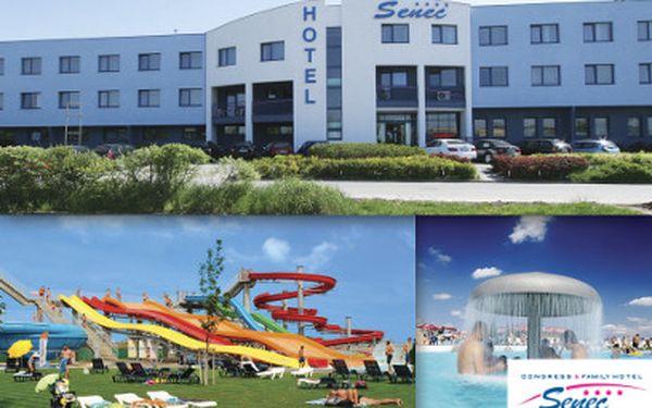 Hotel Senec**** na 4 dni za 162 eur! Aquapark a pobyt na Slovensku vrátane polpenzie a bonusov!