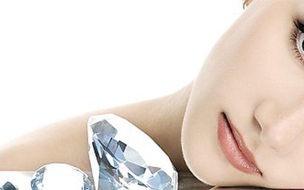 Hloubkové čištění pleti ultrazvukem a ošetření obličeje chlorellou