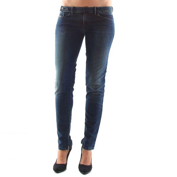 Dámske modré bokové džínsy Diesel