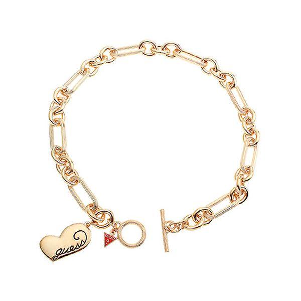 Dámský zlatý řetízkový náhrdelník Guess