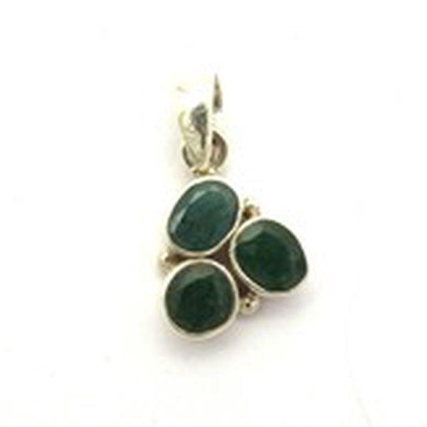 Přívěsek smaragd fasetovaný