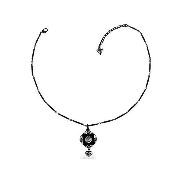 Dámský náhrdelník s přívěskem kytičky Guess
