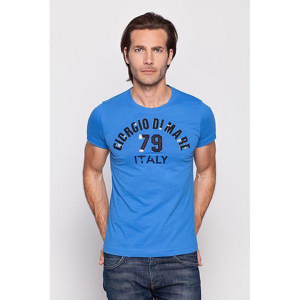 Pánske svetlo modré tričko Giorgio di Mare