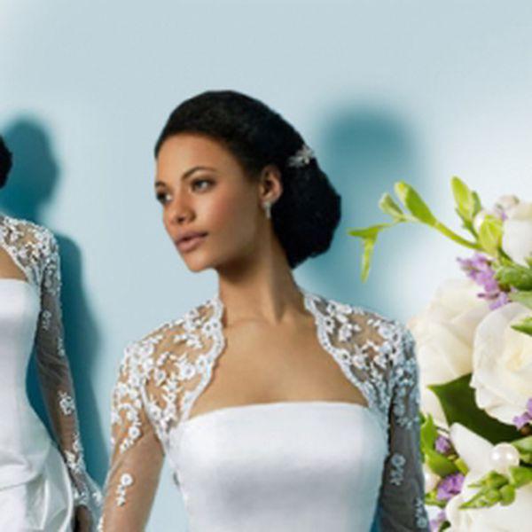 Doveďte své svatební šaty k dokonalosti s tímto zajímavým doplňkem v podobě krajkového bolerka! Díky naší speciální nabídce jen za skvělých 1 090 kč!!