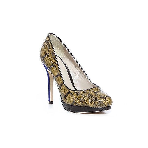 Elegantné topánky na vysokom opätku z dielne Bourne