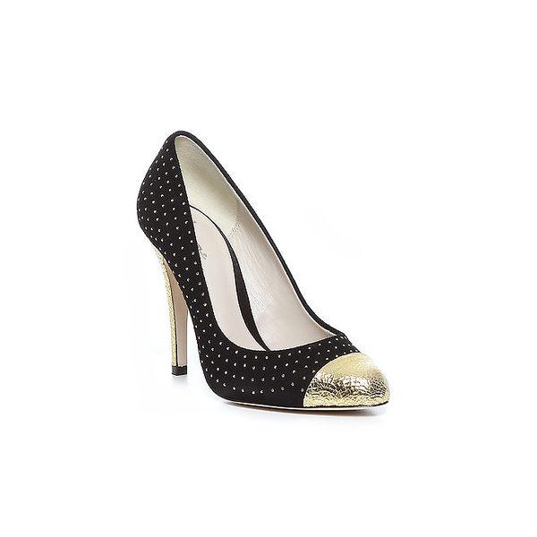 Čierne luxusné topánky Bourne
