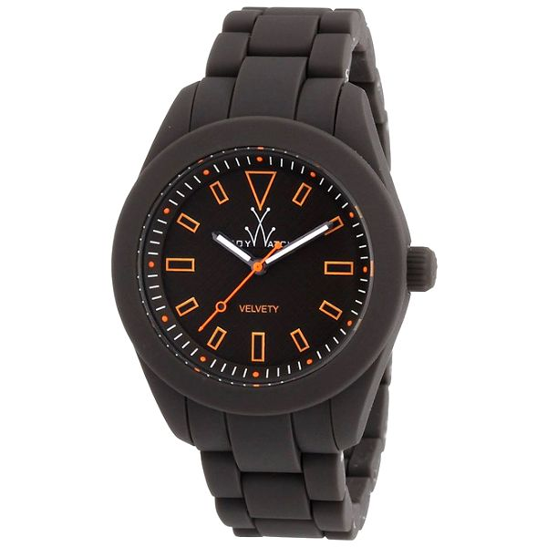 Šedé silikónové hodinky Toy
