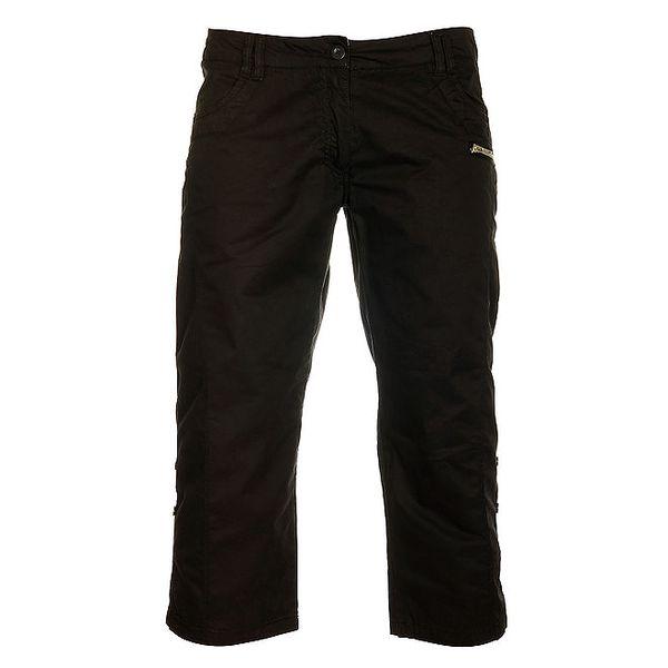 Dámske čierne capri nohavice Loap