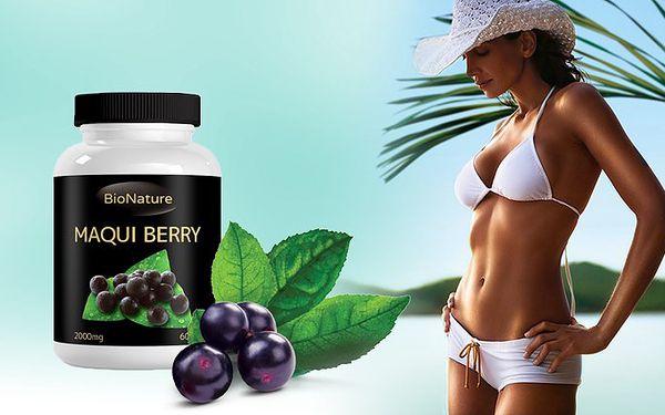 Balení 60 tablet Maqui berry 2000mg