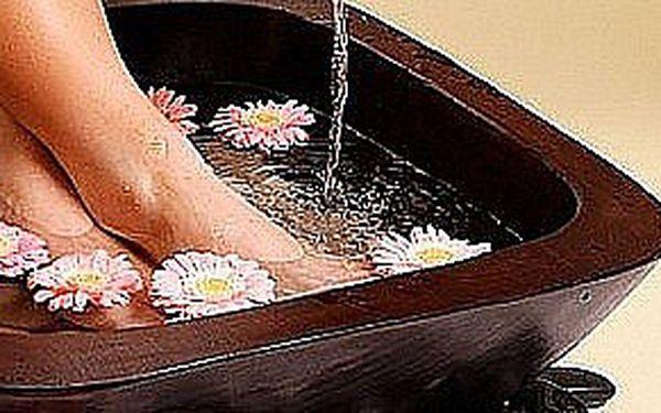 Thajská masáž chodidel s aroma lázní v Ostravě