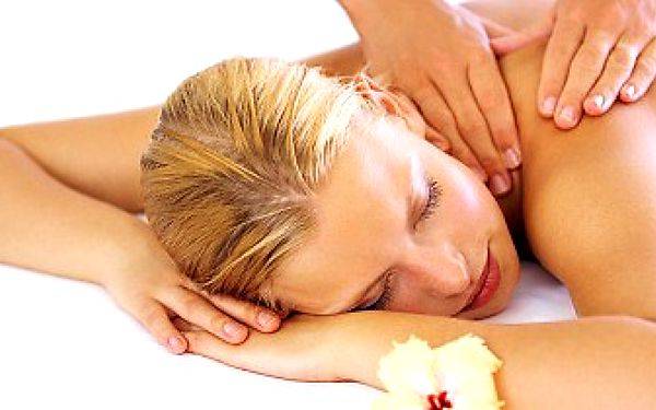 Relaxační masáž celého těla, indická masáž a dárek