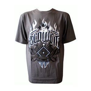 Pánské triko Rocawear tmavě šedé s obrázkem