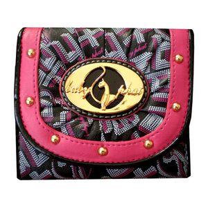 Dámská peněženka Baby Phat černo-červená