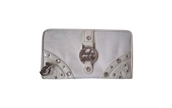 Dámská peněženka Baby Phat bílo-šedá