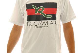 Pánské triko Rocawear bílé s potiskem
