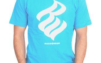 Pánské triko Rocawear tyrkysově modré s logem