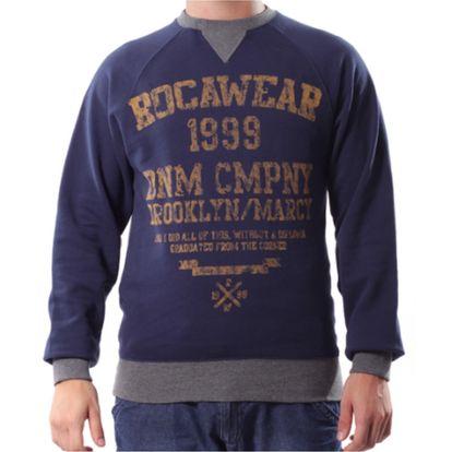 Pánská mikina Rocawear tmavě modrá s potiskem