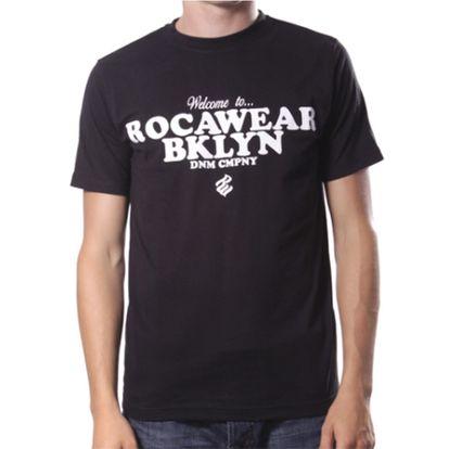 Pánské triko Rocawear černé nápis