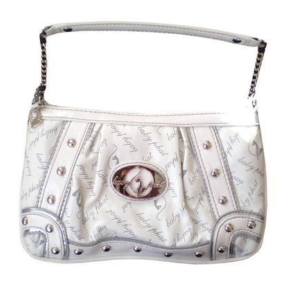 Dámská kabelka Baby Phat bílo-stříbrná