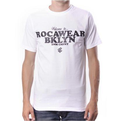 Pánské triko Rocawear bílé nápis