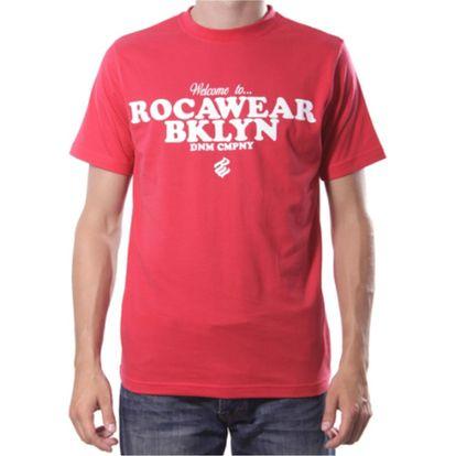 Pánské triko Rocawear červené nápis