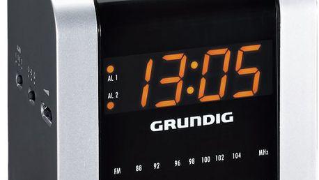Kompaktní radiobudík sopakovaným buzením GRUNDIG SONOCLOCK 560