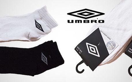 Komfortní ponožky Umbro pro pány