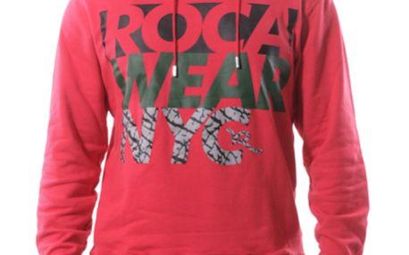 Pánská mikina Rocawear červená s logem