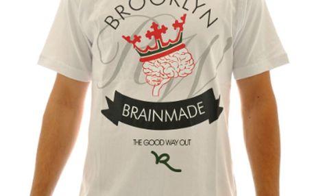 Pánské triko Rocawear bílé logo potisk
