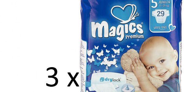 Nejtenčí plenky na trhu Magics Premium Junior Jumbopack - 87ks