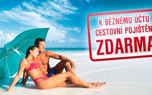 Cestovní pojištění na 15 dní zdarma - libovolná kombinace osob i dní. Platí po celé Evropě. Objednávejte teď a aktivujte online až do 31. 10. 2013.