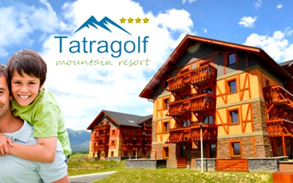 Dovolená v Tatrách : 3pokojový apartmán pro 4 i více osob na 3 nebo 7 dní!
