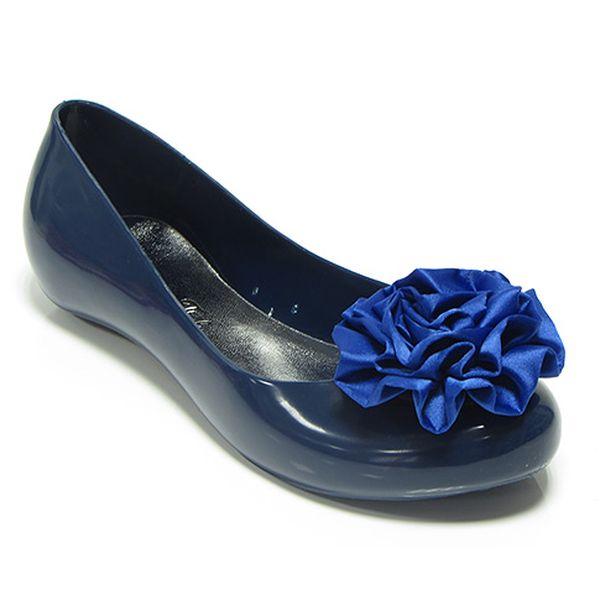 Tmavě modré baleríny Fiore