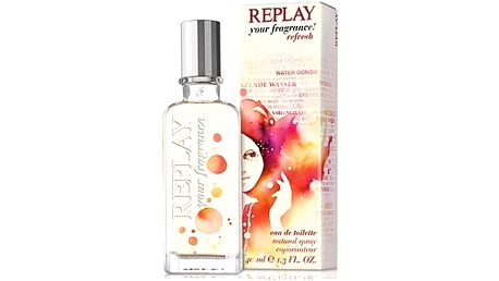 Replay your fragrance! Refresh 40ml EDT W