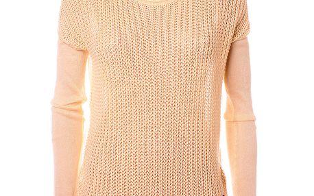 Dámsky béžový sveter Object