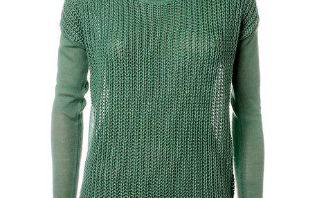 Dámský zelený svetr Object