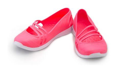 Dámské baleríny Adidas růžovo-bílé