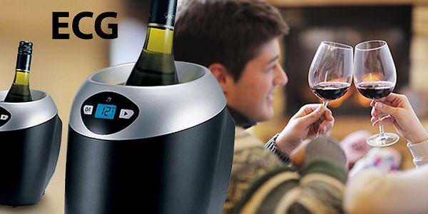 Elektrický chladič na víno s nastaviteľnou teplotou