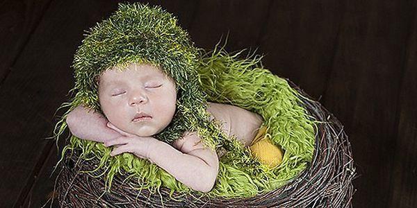 Ateliérové focení - NEWBORN - novorozenců do 3 týdnů věku