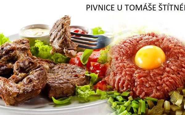 Vypečená nabídka pro milovníky masa