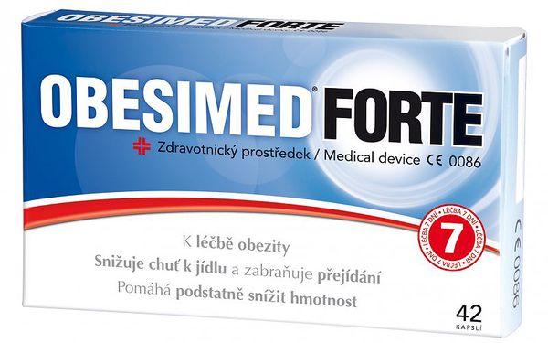 Obesimed Forte cps.42 - í pro léčbu nadváhy a obezity