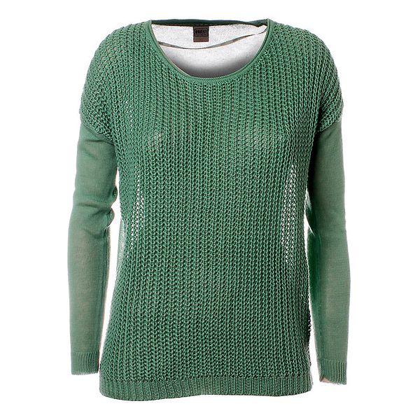Dámsky zelený sveter Object