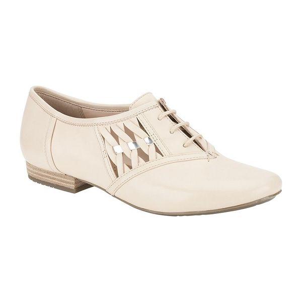 Dámské boty Clarks krémové